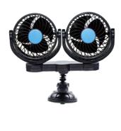 12 Plug 5V ADJ Speed Double Head Fan