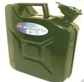 JERRY CAN 10LTR METAL