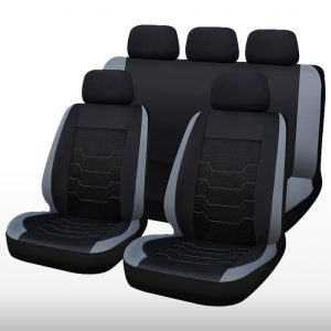 11PC Mesh/Polyester Seat Cover Set